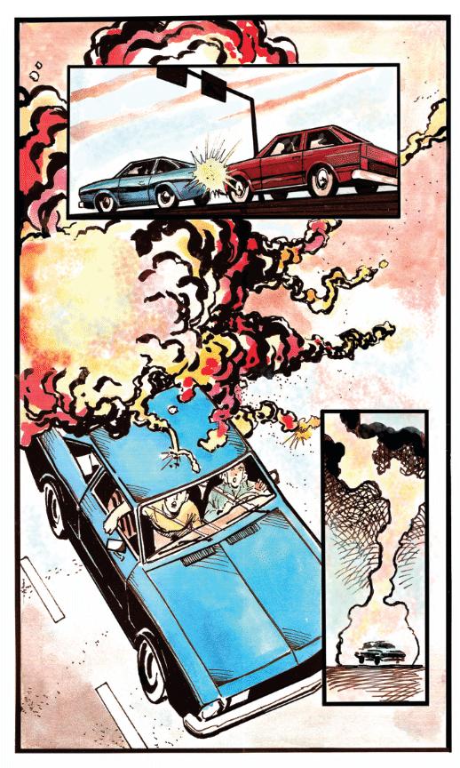 pinto crash illustration
