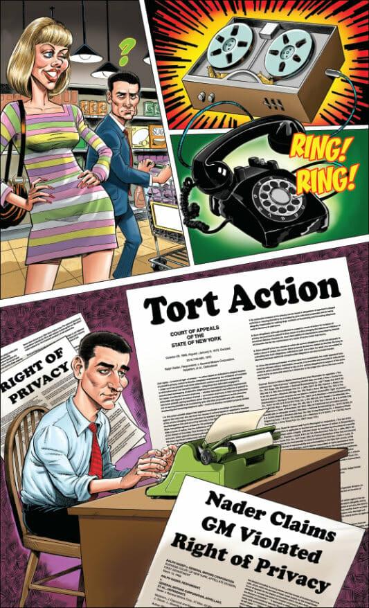 Nader GM Tort Action