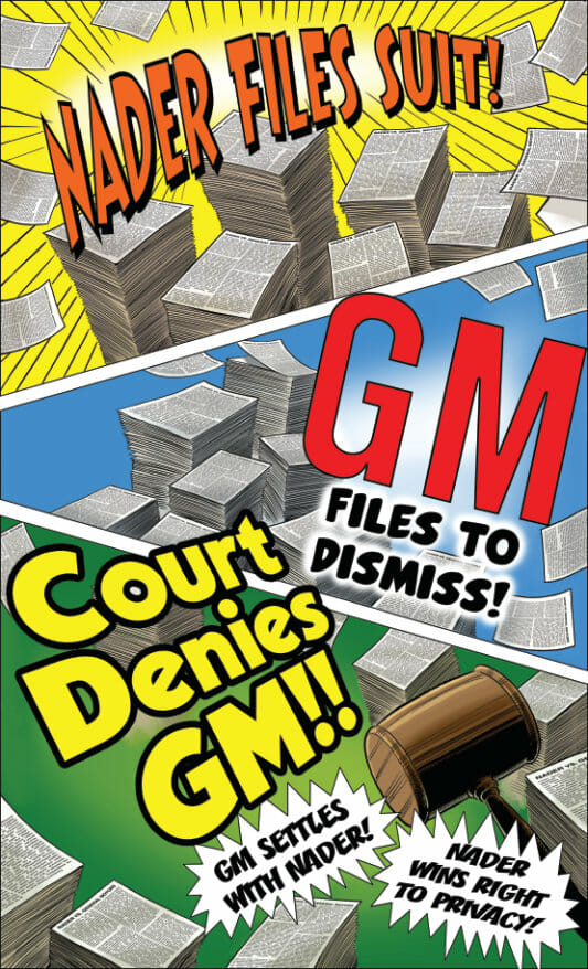 Nader sues General Motors
