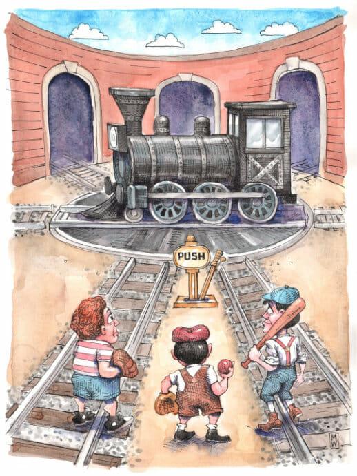 Sioux City & Pacific Railroad Co. v. Stout