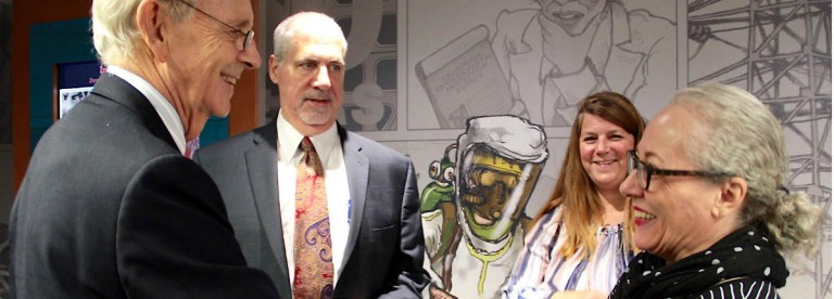 Supreme Court Justice Breyer visits the Tort Museum